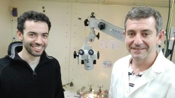 Camilo Minnini y Sergio Lew. Foto: gentileza investigadores