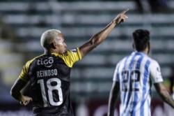 Reinoso y Barbosa marcaron los goles del equipo boliviano.
