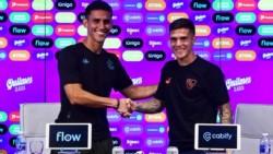 Los jugadores de Racing e Independiente brindaron una conferencia de prensa en conjunto de cara al derby del domingo.