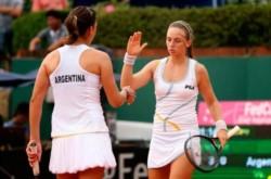 Podoroska y Ormaechea ganaron sus dos partidos en individuales para asegurar el triunfo.