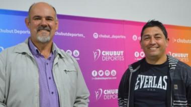 La nueva comisión directiva de Bigornia sostuvieron una reunión con Hernández en Chubut Deportes. Esperan trabajar en conjunto.