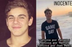 Familiares y amigos de Juan Pedro Guarino -otro de los detenidos- lanzaron una campaña en las redes sociales para que se haga