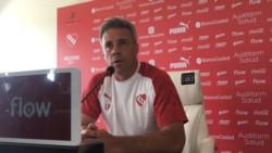 """Lucas Pusineri: """"Prefiero potenciar a jugadores que ya están. Hay jugadores buenos que solo estaban pasando por malos momentos""""."""