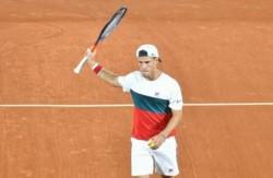 Diego Schwartzman se metió entre los mejores cuatro del ATP 250 de Córdoba.