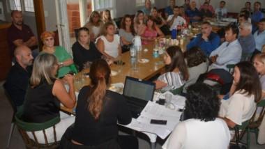 Anoche los magistrados se encontaban reunidos analizando los puntos debatidos con el Gobierno.