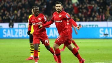 Kevin Volland le convirtió 8 goles en 17 partidos al Borussia Dortmund. Los atendió con Hoffenheim y ahora con Bayer Leverkusen.