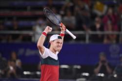 Schwartzman, N°1 de América Latina y 14° del mundo, venció a Djere por 6-1, 1-6 y 6-2 en Córdoba y pasó a su 8ª final de ATP.