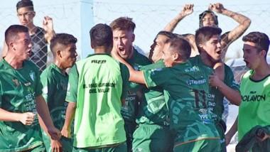 Facundo Kent, quien habia ingresado en el segundo timepo,  fue el que le dio la victoria marcando el 4to gol.
