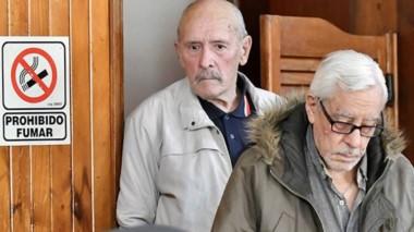 A esperar. Nichols (izquierda) y Hermelo enfrentan un pedido de 17 años de prisión de parte de la Fiscalía.