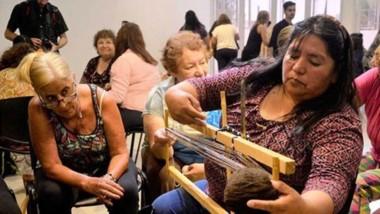 A los encuentros asistieron tejedoras de Chubut, La Pampa, Neuquén, Río Negro, Santa Cruz y Tierra del Fuego.
