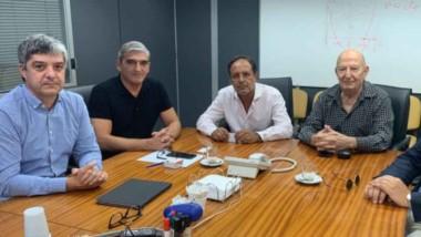 Los encuentros que se mantuvieron que las autoridades de la Secretaría de Energía de la Nación.
