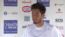 La historia de Juan Pablo Paz, el tenista argentino varado en Europa.
