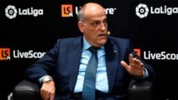 El CEO de La Liga de España, Javier Tebas, aseguró que las competiciones europeas
