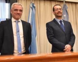 Doctores Mario Vivas y Alejandro Panizzi.
