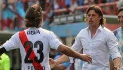 Almeyda ve a Ponzio como un futuro gran entrenador.