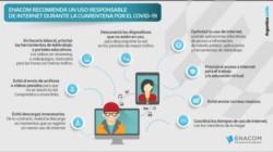 Cuarentena: Enacom pide a la población hacer un uso racional de Internet.