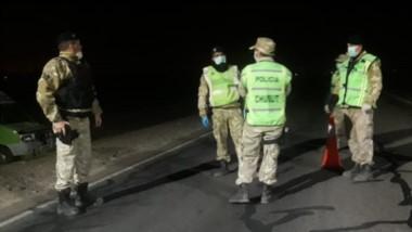 Personal policial de Seguridad Rural y Abigeato efectúa controles activos en la zona del valle inferior.