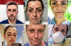 El rostro de los héroes de Italia. Al menos 18 médicos han muerto, incluidos varios que salieron de la jubilación para ayudar.