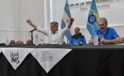 En conferencia de prensa el gobernador de Chubut, Mariano Arcioni, brindó detalles de las medidas tomadas por el coronavirus.  Foto: Daniel Feldman / Para Jornada