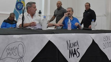 Durante la conferencia de prensa del Comité de Crisis se hizo un recordatorio por un nuevo aniversario del  24 de marzo, Día de la Memoria.