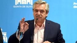 """Alberto Fernández sobre quienes incumplen cuarentena: """"Son unos inconscientes""""."""