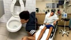 Larz, un influencer de 21 años que vive en el estado estadounidense de California, afirmó a través de las redes sociales que quedó internado debido a que dio positivo en coronavirus.