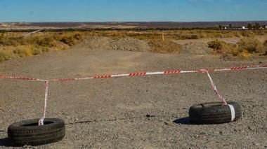 Se decidió entre el intendente James y otros funcionarios, bloquear los accesos a la localidad de Gaiman.