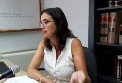 Silvina Pazos. Directora de Bibliotecas del Superior Tribunal de Justicia