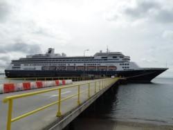 El crucero Zaandam, perteneciente a la naviera Holland America.