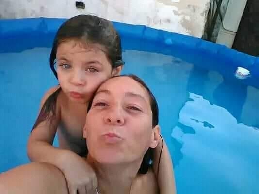 Ella se llama Cristina Iglesias (40) y su hija Ada (7). Son de Lanús Este, Monte Chingolo y están desaparecidas desde el 25 de marzo.