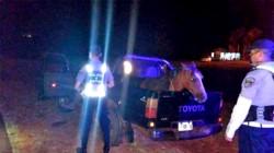 La policía correntina detuvo la camioneta que llevaba al