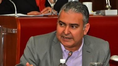El presidente del bloque de Juntos por el Cambios, Manuel Pagliaroni.