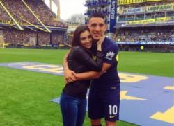 Melody Pasini, la novia de Ricardo Centurión. Tenía 25 años. El fútbol argentino se une en el dolor y acompaña con todos su corazones a Ricky y familia.