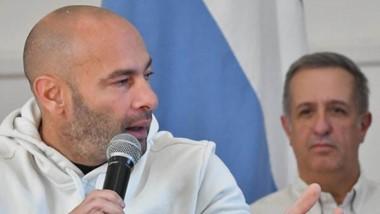Federico Massoni, ministro de Seguridad de Chubut.