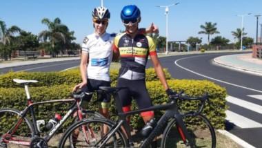 Los chubutenses Fabrizio Crozzolo y Matías García, participarán desde mañanaen el Campeonato Argentino de Ciclismo Ruta Junior.