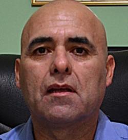 Comisario mayor Fernando Mora.