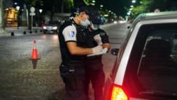 Una pareja fue detenida en Mendoza mientras circulaba sin autorización en la cuarentena.