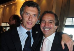 El ex presidente y Nicolás