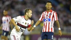 Doblete de Éverton Ribeiro para la victoria 2-1 de Flamengo ante Junior (descontó Teo) en Colombia, en la primera jornada del Grupo A.