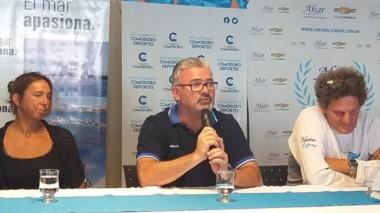 Durante la tarde del miércoles se presentó la prueba en el Club de Náutica y Pesca Comandante Espora.