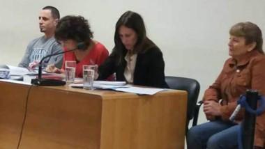Héctor Rubén Gallardo en el juicio donde fue condenado a perpetua. El STJ confirmó la pena de Comodoro.