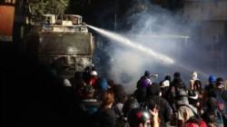 Decenas de miles de manifestantes se congregaron este viernes en Santiago, en la mayor concentración del año en Chile, para reclamar mejoras sociales.