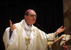 """Ojea afirmó que """"es injusto y doloroso"""" que tilden a la Iglesia y a quienes se oponen a la legalización del aborto, de """"antiderechos o hipócritas""""."""