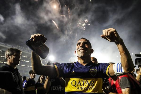Tevez fue el capitán, referente y goleador del Boca campeón.