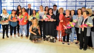 Símbolo. Todas las mujeres fueron homenajeadas y representadas en 9 figuras de gran protagonismo social en el Valle Inferior, por decisión de la Municipalidad trelewense.