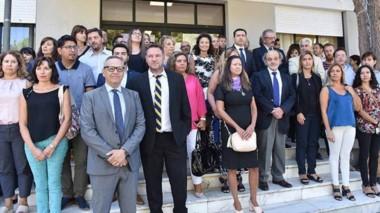 Otra manifestación conjunta entre  jueces, fiscales, defensores y  funcionarios ante la situación de crisis.