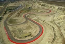 Foto aérea del circuito actual de la Asociación Mar y Valle.