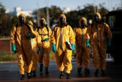 Brasil rompe récord de muertos en un día por coronavirus, fallecidos se acercan a los 1.000.,