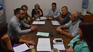 Sergio Ongarato y Matías Taccetta se reunieron con Concejales se reunieron para tratar diversos temas.