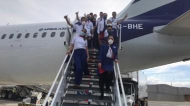 Por el trabajo conjunto con el Consulado Argentino en Costa Rica con Latam se logró que 163 argentinos regresen a casa en un vuelo especial.